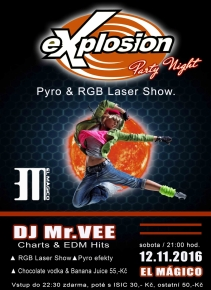 Explosion Night & Laser Show