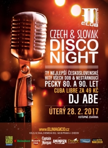 Czech & Slovak Disco Night