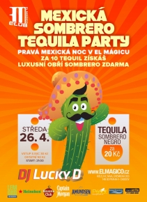 Mexická Sombrero Tequila Party