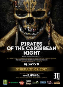 Pirates of The Caribbean Night