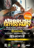 Airbrush Tattoo Party