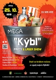 Mega Kýbl Party & Laser Show