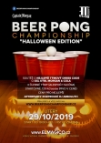 Beer Pong Championship - Halloween Edition